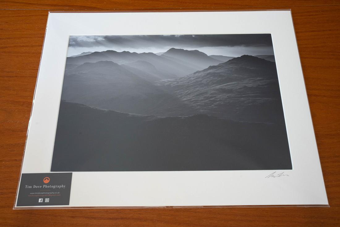 Mounted 1 print