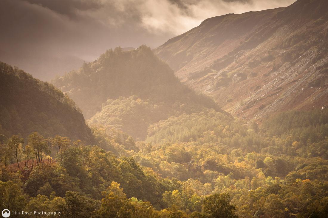 Castle Crag Autumn View