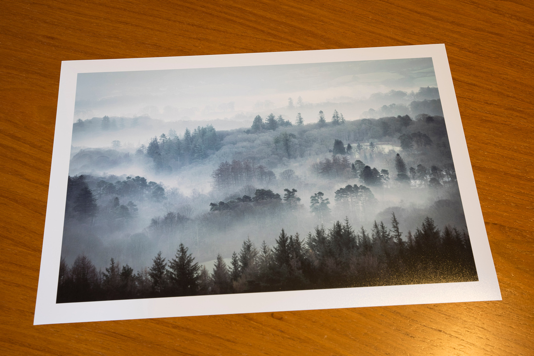 New Print added to the Shop - Windermere pre dawn mists