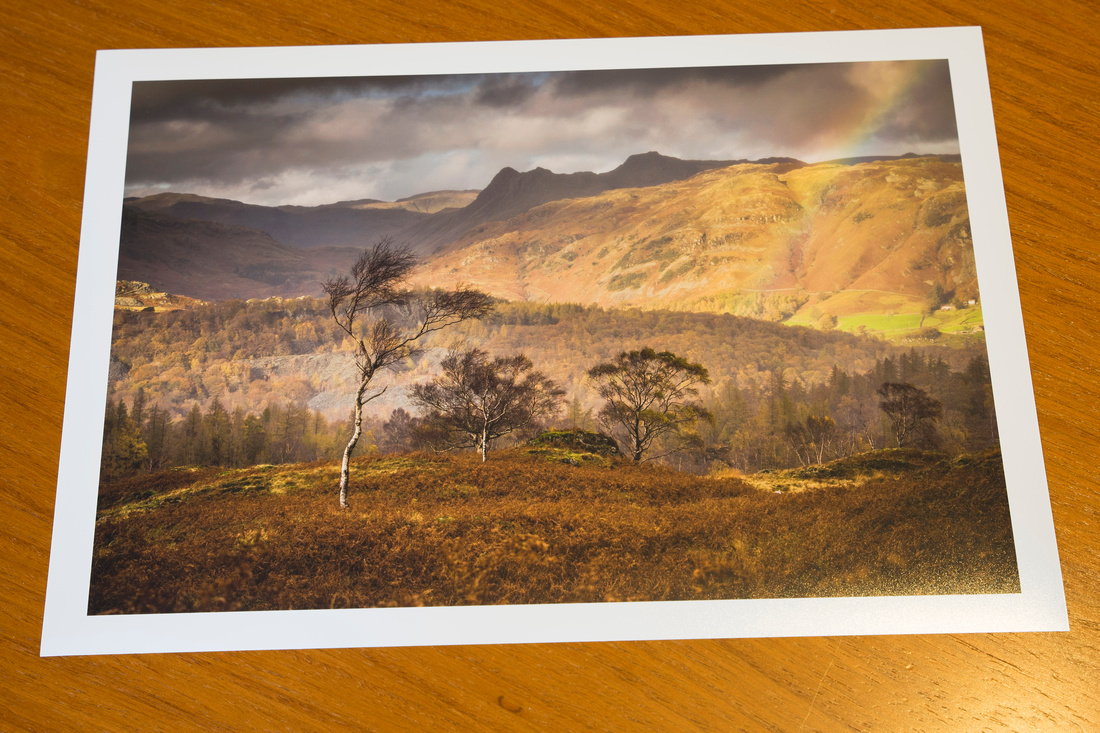 New Print added to the shop - Oxen Fell Passing Showers