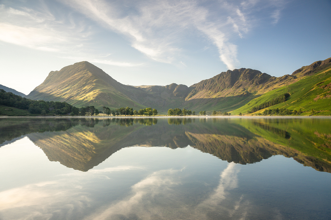 Fleethwith Pike and Haystacks Buttermere Reflections